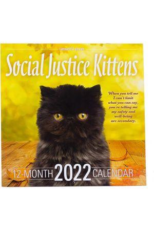 2022 Social Justice Kittens Calendar