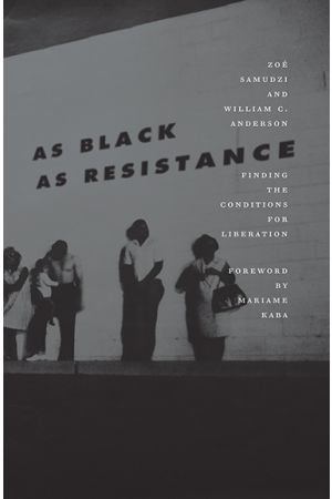 As Black as Resistance e-book