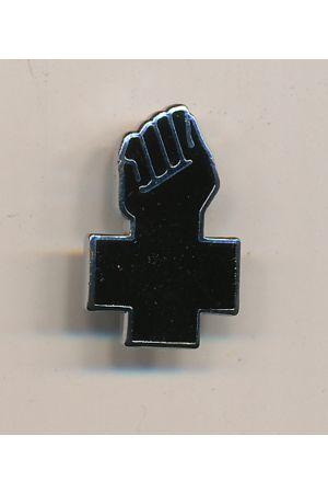 Anarchist Black Cross Pin