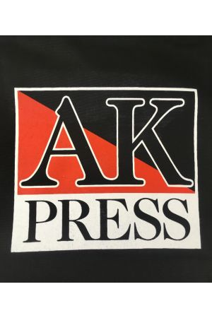 AK Press Black Cotton Tote Bag