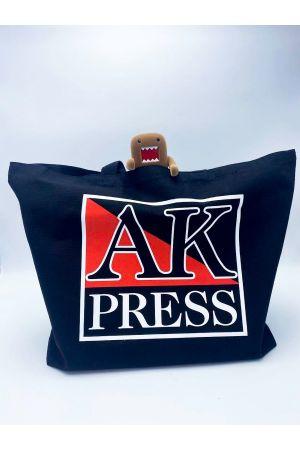 AK Press Black Cotton Tote Bag