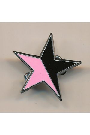 Anarcho-Queer Star Pin
