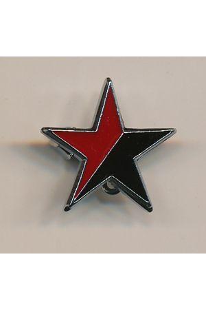 Anarcho-Syndicalist Star Pin