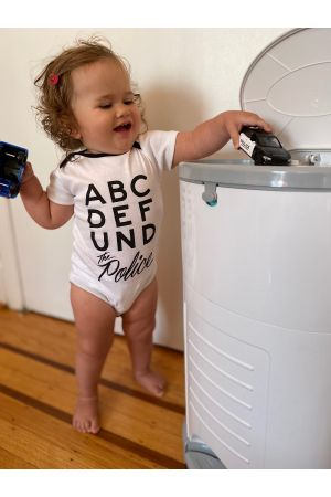 ABCDEFUND the Police Onesies & Toddler Tees (Benefit for The Zachary Project at Critical Resistance)