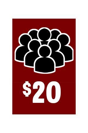 Friends of AK Press Sustainer Membership - $20/month
