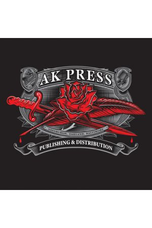 "AK Press ""Pen and Sword"" Zipper Sweatshirt"