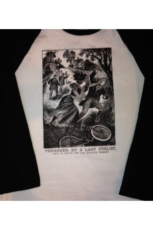 Lady Cyclist T-Shirt
