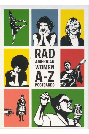 Rad American Women A–Z Postcards