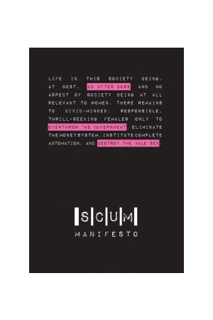 SCUM Manifesto e-book
